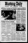 Mustang Daily, June 3, 1971