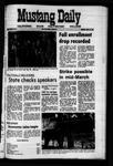 Mustang Daily, September 28, 1971