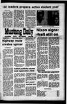 Mustang Daily, September 29, 1971