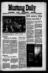 Mustang Daily, October 5, 1971