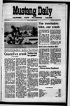 Mustang Daily, October 6, 1971