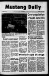 Mustang Daily, October 11, 1971