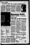 Mustang Daily, October 13, 1971