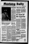 Mustang Daily, October 15, 1971