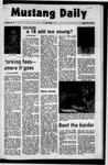 Mustang Daily, October 18, 1971