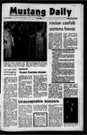 Mustang Daily, October 19, 1971