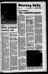 Mustang Daily, October 20, 1971