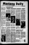 Mustang Daily, October 21, 1971