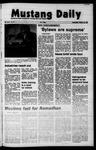 Mustang Daily, October 27, 1971