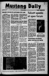 Mustang Daily, October 28, 1971