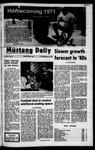 Mustang Daily, October 29, 1971