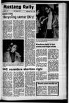 Mustang Daily, November 3, 1971