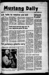 Mustang Daily, November 4, 1971