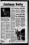Mustang Daily, November 12, 1971