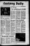 Mustang Daily, November 15, 1971