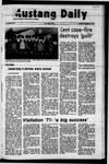 Mustang Daily, November 16, 1971
