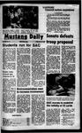 Mustang Daily, November 19, 1971