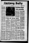 Mustang Daily, November 22, 1971