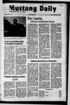 Mustang Daily, November 23, 1971