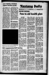 Mustang Daily, November 29, 1971