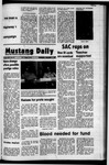 Mustang Daily, December 1, 1971