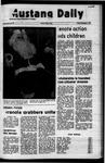 Mustang Daily, December 3, 1971