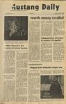 Mustang Daily, January 7, 1972