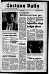 Mustang Daily, January 10, 1972
