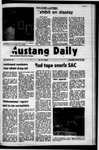 Mustang Daily, January 12, 1972