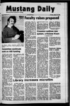 Mustang Daily, January 13, 1972