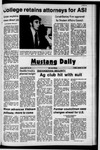 Mustang Daily, January 14, 1972