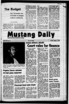Mustang Daily, January 17, 1972