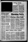 Mustang Daily, January 18, 1972