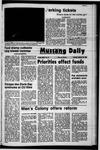 Mustang Daily, January 18, 1972