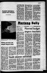 Mustang Daily, January 20, 1972