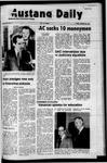 Mustang Daily, January 21, 1972