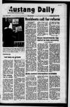 Mustang Daily, January 25, 1972