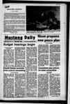 Mustang Daily, January 26, 1972