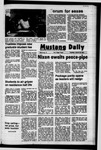 Mustang Daily, January 27, 1972