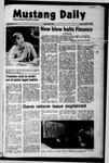 Mustang Daily, January 28, 1972