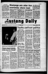 Mustang Daily, February 14, 1972