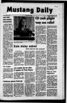 Mustang Daily, February 22, 1972