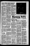 Mustang Daily, March 3, 1972