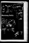 Mustang Daily, March 28, 1972