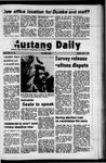 Mustang Daily, April 4, 1972