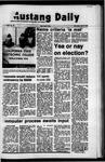 Mustang Daily, April 5, 1972
