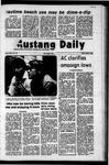 Mustang Daily, April 7, 1972
