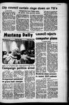 Mustang Daily, April 14, 1972