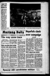 Mustang Daily, April 21, 1972