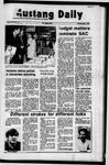 Mustang Daily, May 1, 1972
